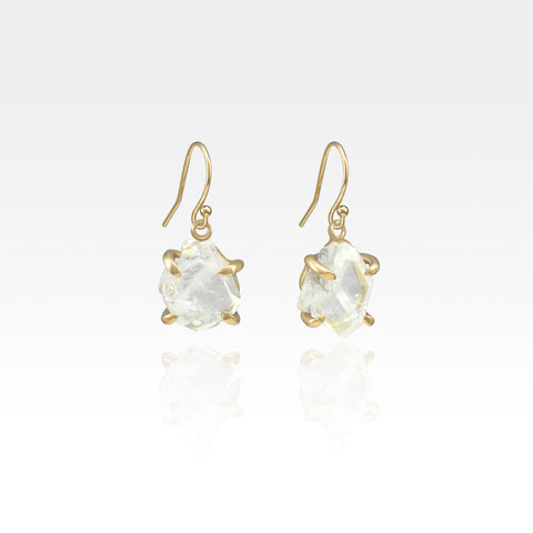 Faden Quartz Drop Earrings
