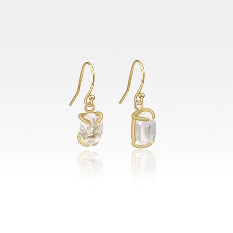 Himalayan Diamond Drop Earrings