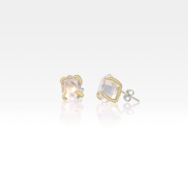 Himalayan Diamond Stud Earrings