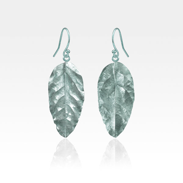 Laurel Leaf Drop Earrings