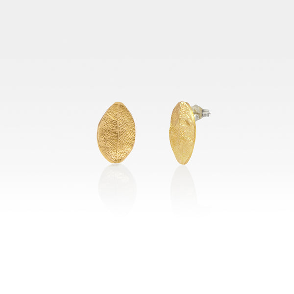 Laurel Leaf Stud Earrings