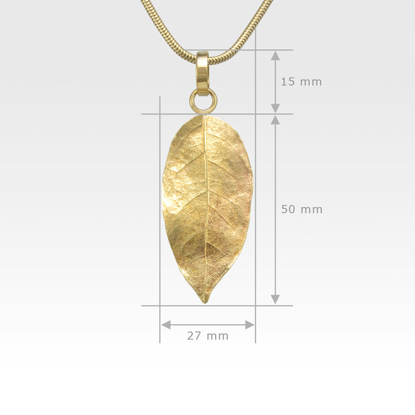 Laurel Leaf Pendant