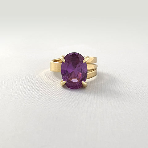 Multi-Facet Alexandrite Ring Limited Edition 1