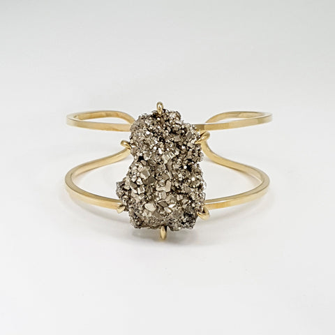 Pyrite Cuff Medium Limited Edition 1