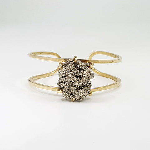 Pyrite Cuff Small Limited Edition 1 *SOLD*