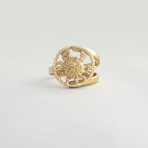 Star Signs Cancer Ring