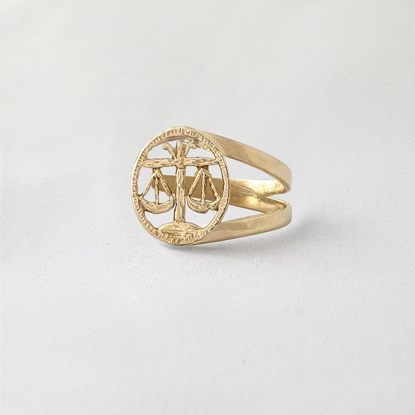 Star Signs Libra Ring Side