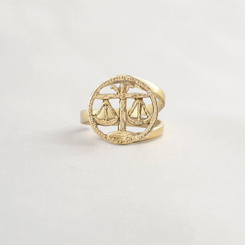 Star Signs Libra Ring