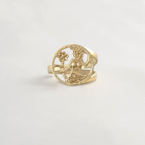Star Signs Virgo Ring