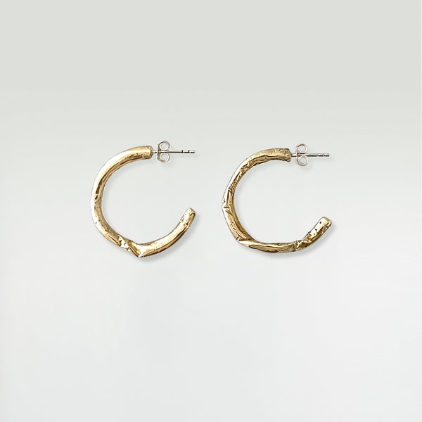 Twiglet Hoop Earrings Large