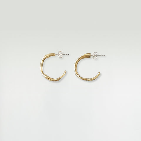 Twiglet Hoop Earrings Medium