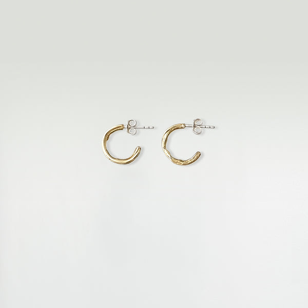 Twiglet Hoop Earrings Small