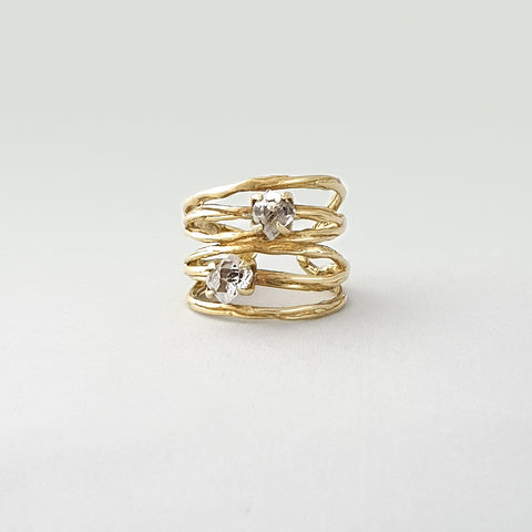 Twiglet Himalayan Diamond Ring