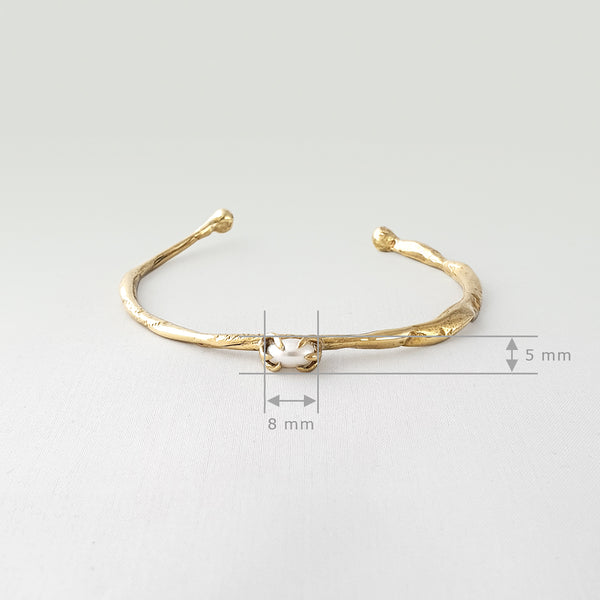 Twiglet Pearl Bracelet Measurements