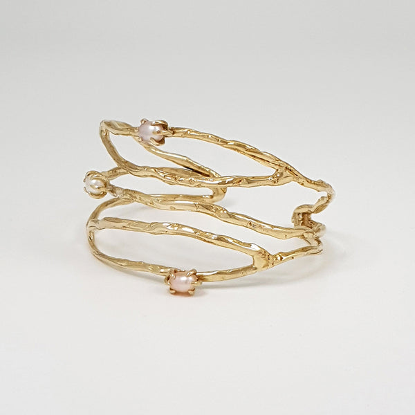 Twiglet Pearl Cuff Limited Edition 2 *SOLD*