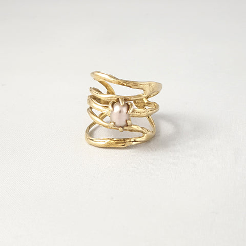 Twiglet Pearl Ring Pink Limited Edition *SOLD*