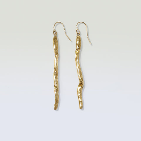 Twiglet Rod Earrings Long