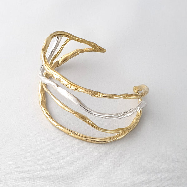 Twiglet Two Tone Cuff Limited Edition 1 *SOLD*