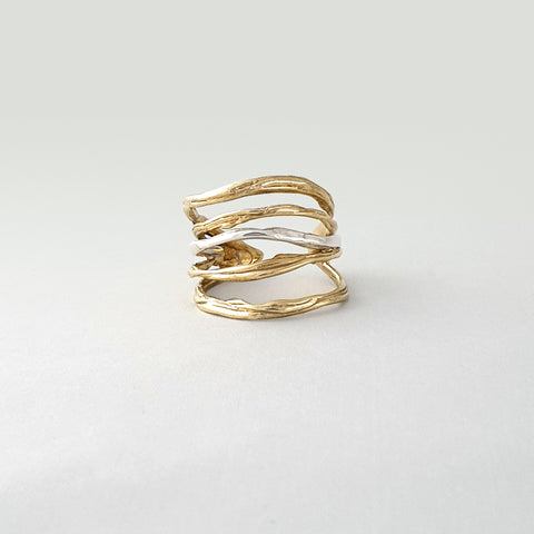 Twiglet Two Tone Ring