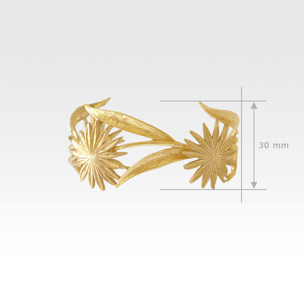 Vintage Flower Cuff Measurements