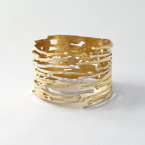 Waterfall Two Tone Cuff Limited Edition 2