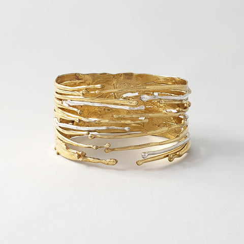 Waterfall Two Tone Cuff Limited Edition 3