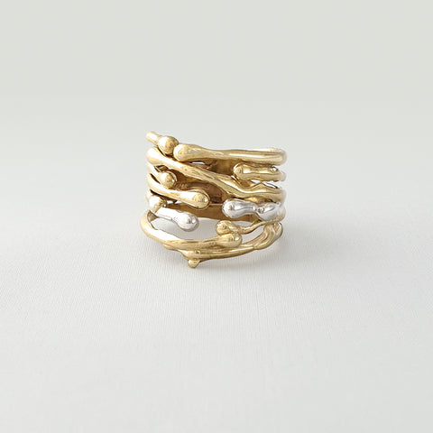 Water Two Tone Ring