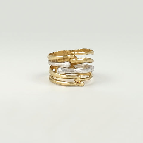 Waterfall TT Ring