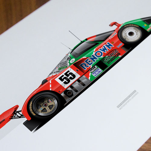 787B Motorsport Legends Artwork