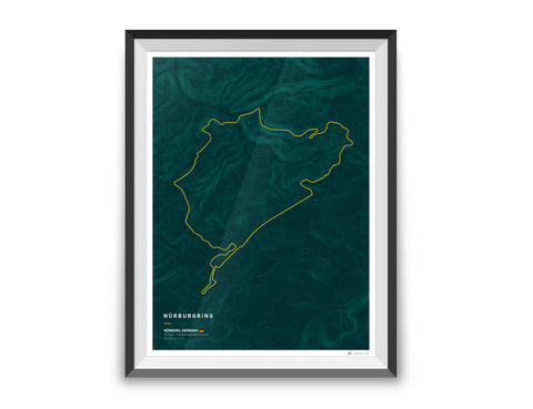 Driving roads: Mt. Hakone & Izu Skyline Artwork Print