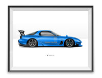 Touge Monster Ltd. Edition print