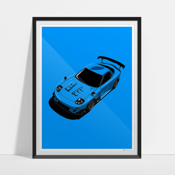 RE-FD Artwork Print