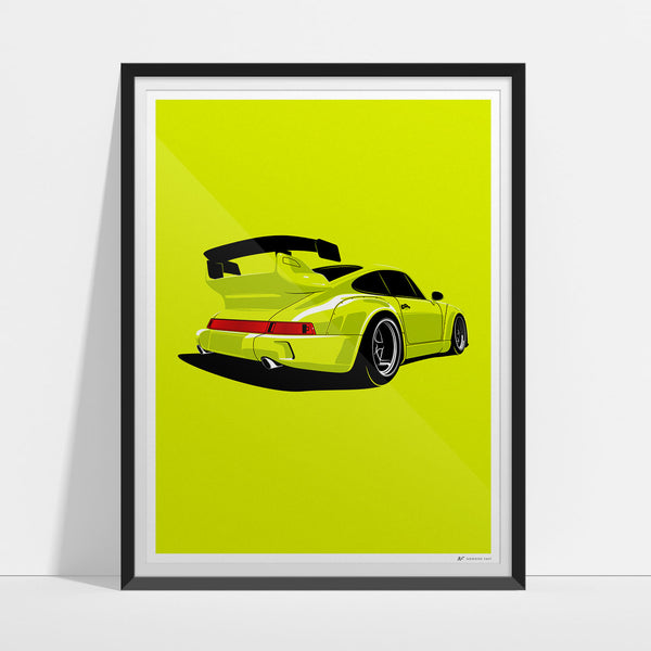 RWB Rough One Artwork Print