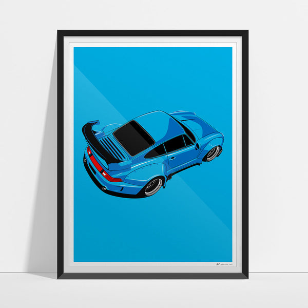 RWB Rough Two Artwork Print