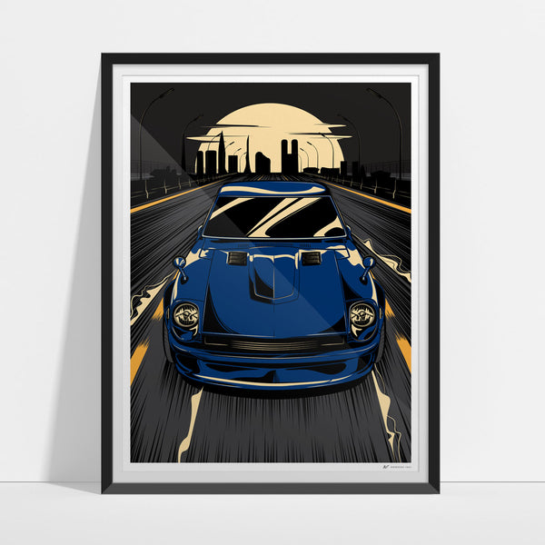 The Wangan Artwork Print