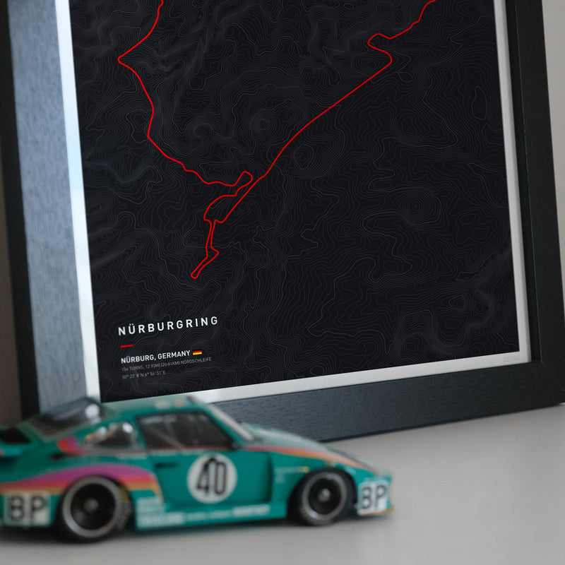 Driving roads: Nürburgring Artwork Print
