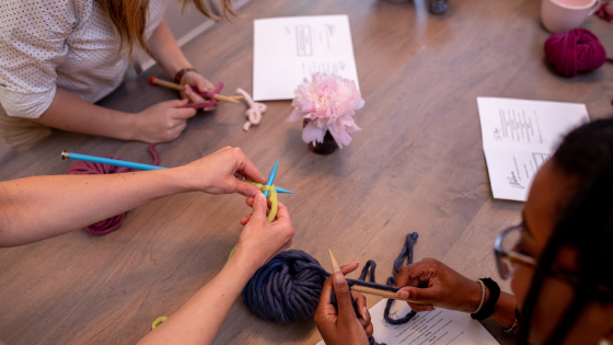 Wellness:  Breaking down the Top 3 benefits of knitting