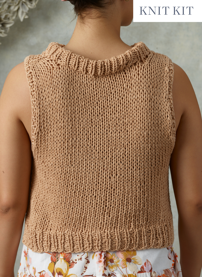 The Sofie - Hand Knit Cropped Pullover