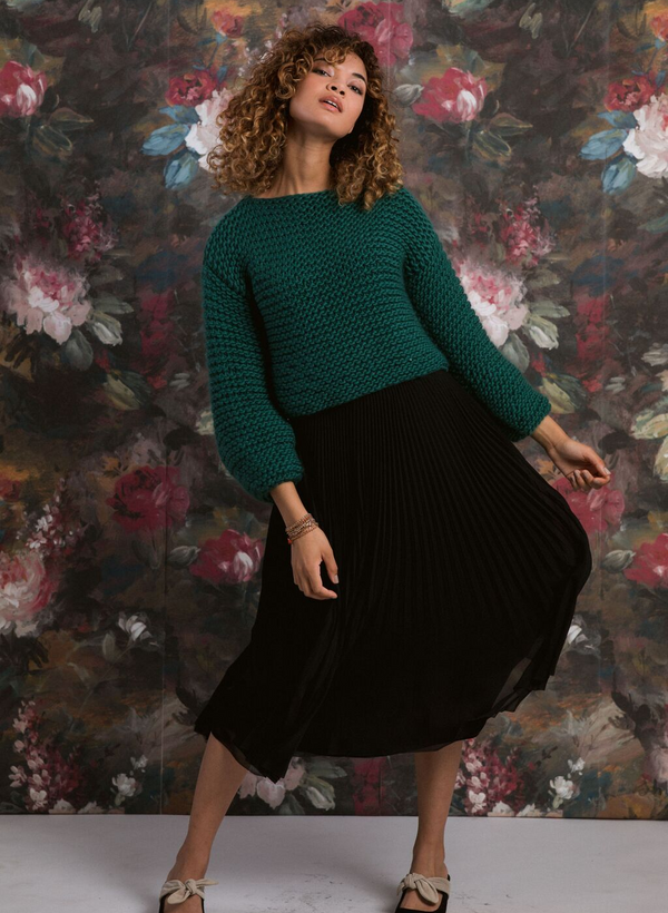 PATTERN The Sofie - Hand Knit Cropped Pullover