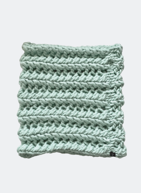 Ready Made: The Nantucket - Cowl Scarf in Spearmint