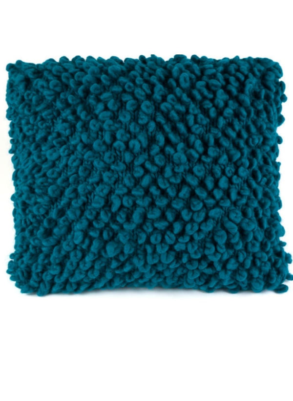 Knit Kit: The Loopy Stitch Pillow