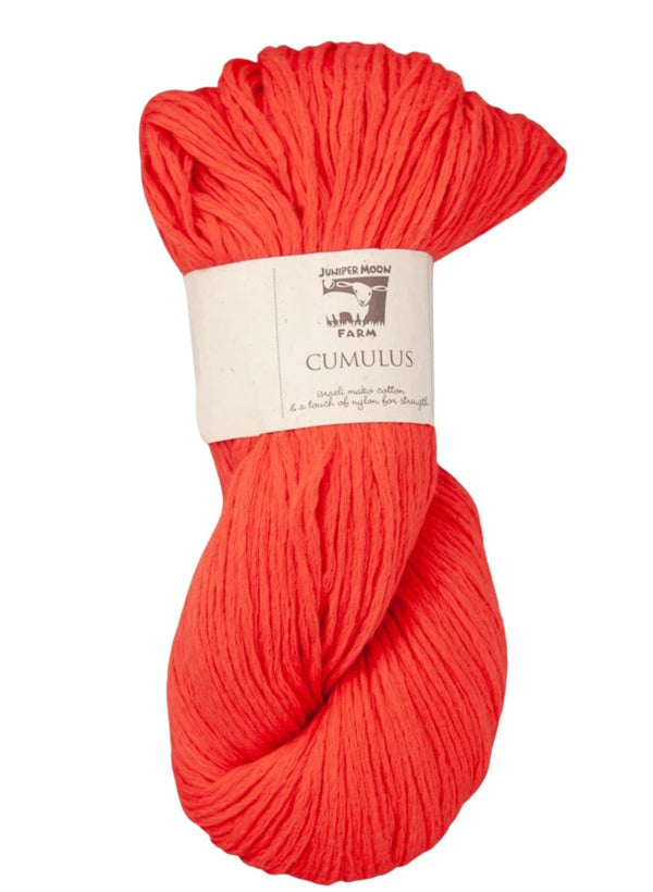 Cumulus Cotton by Juniper Moon: Tangerine