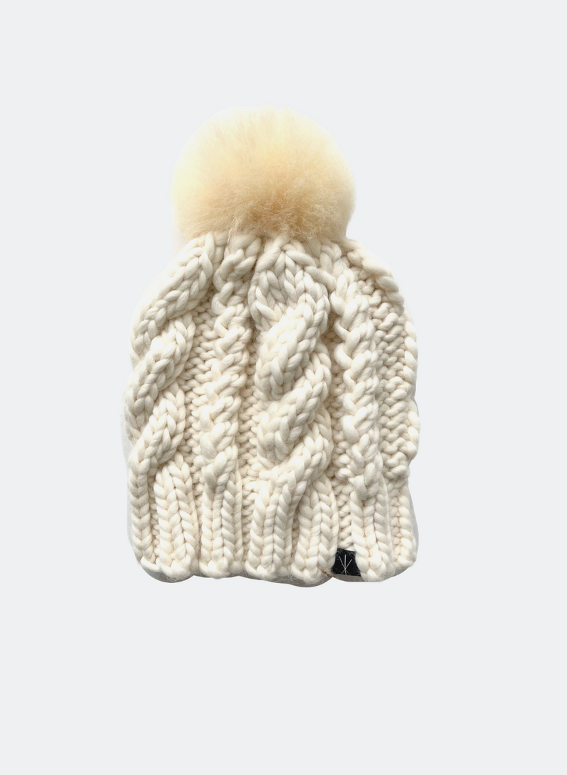 Ready Made: The Fenway - In Sugar with Alpaca Pom Pom