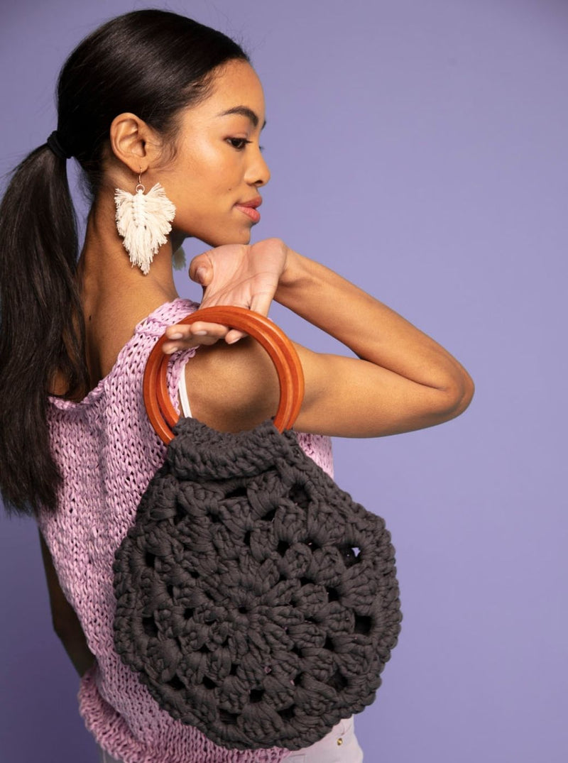 PATTERN - The Flora Crocheted Bag