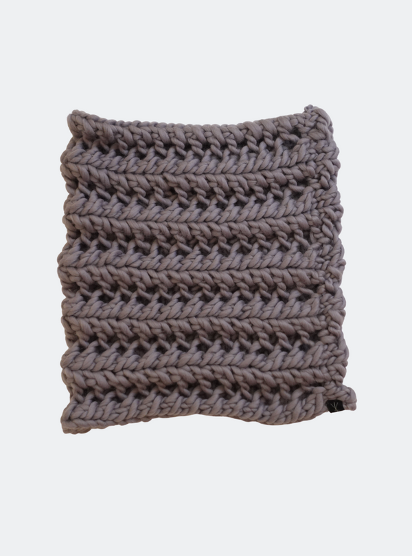 SALE: The Nantucket - Cowl Scarf in Charcoal