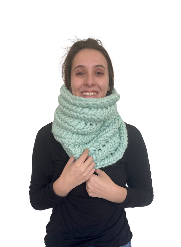 SALE: The Nantucket - Infinity Scarf in Caviar