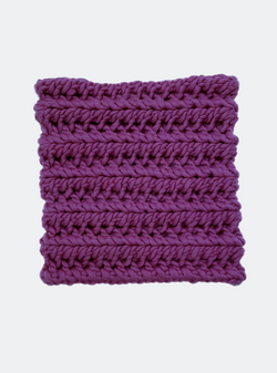 SALE: The Nantucket - Cowl Scarf in Wisteria