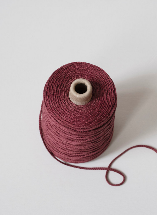 Lanyard Yarn By Echo View Mills: Marsala