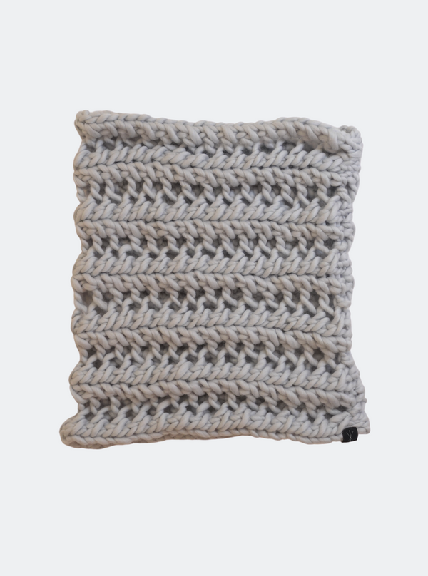 SALE: The Nantucket - Cowl Scarf in Frost