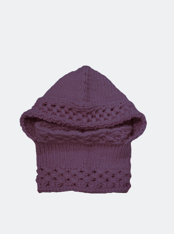 SALE: The Newbury - Hooded Cowl In Wisteria
